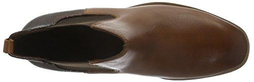 Tamaris Damen 25300 Chelsea Boots Braun (Cognac/Bronce 332)