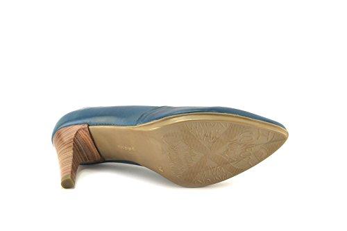 CONBUENPIE  1613, chaussures femme Bleu