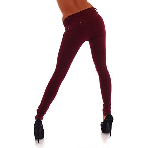 Crazy Age -  Pantaloni  - Donna Bordeaux