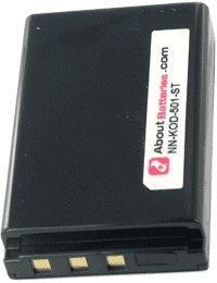 Akku für KODAK EASYSHARE P880, 3.7V, 1600mAh, Li-Ionen