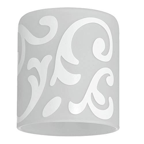 EGLO Lampenschirm Glas Weiß