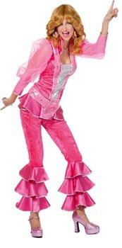 Damenkostüm Mama Mia Pink, Gr. (Fee Mama Pink Kostüme)