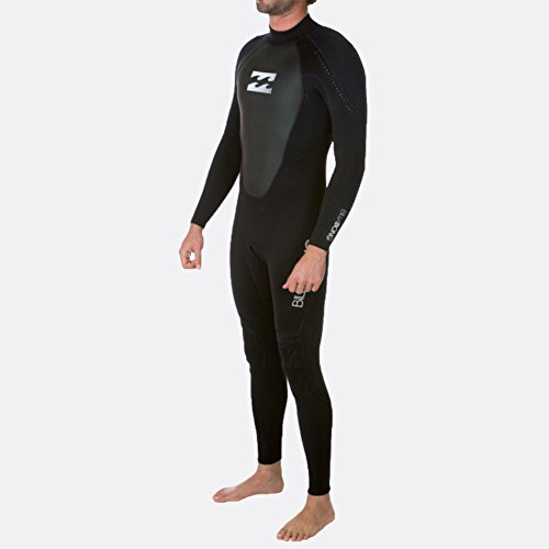 2017 Billabong Intruder 5/4mm GBS Back Zip Wetsuit in BLACK O45M15 Wetsuit Sizes - XLarge (Fullsuit Neoprenanzug 3mm)