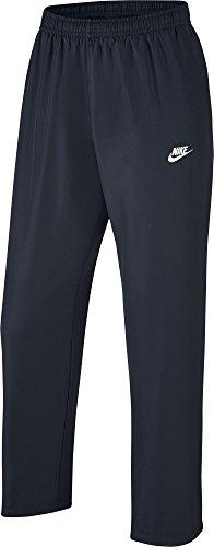 Nike M NSW Oh WVN Season Pant-Pantaloni da uomo Azul (Dark Obsidian / Dark Obsidian / White)
