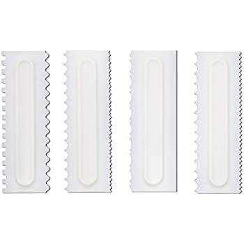 PME ES75 Tortengl/ätter//-Polierer mit gerader Kante cm Kunststoff 1 Einheiten 7 x 5 x 15 cm White