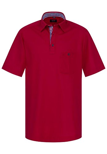 Eterna - Polo -  Homme Rouge - intensive red
