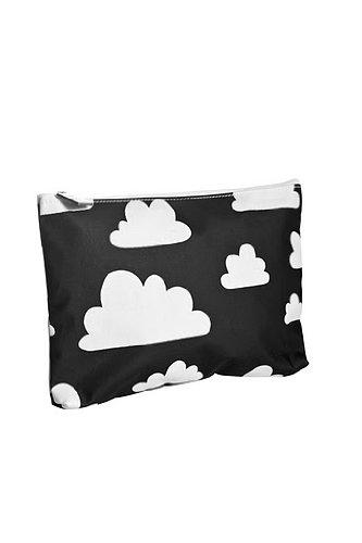 Preisvergleich Produktbild Farg Form Sac avec imprimé Cloud (Petit, Noir)