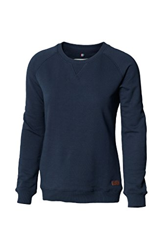 Nimbus Frauen Milton Modische Crew Neck Sweater - 4 Farben / Sml - 2 - Navy - XL (Stich-detail-jumper)