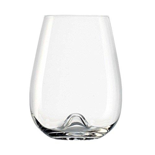 Stolzle 2-teilig 16Oz Vulcano ohne Stiel Wein Gläser Anchor Hocking Swirl