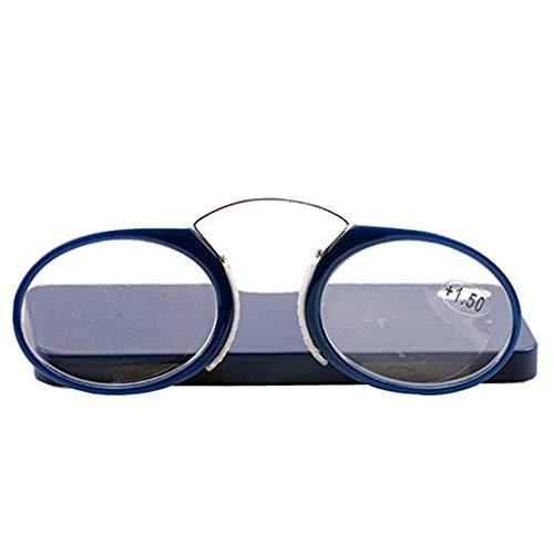Frauen Herren Mini Clip Nase Tragbar Brieftasche Leser Brille Dioptrie +1.0 +1.5 +2.0 +2.5 +3.0 +3.5