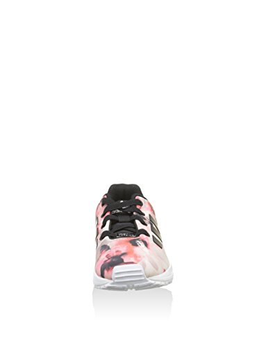 adidas Zx Flux - Sneaker Unisex - Bimbi 0-24 nero / rosa / bianco