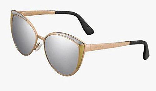 Jimmy Choo Damen Sonnenbrille goldfarben gold