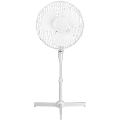"Stasun portable oscillating fan valve, 16 "", white"