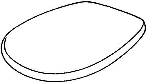 Preisvergleich Produktbild Keramag 572165000 WC-Sitz Renova Nr. 1 mit Deckel, Scharniere: Edelstahl, weiß