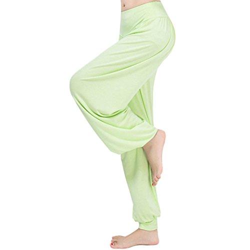 Toamen Pantalon Femmes, Danse Sarouels Exercices matinaux Vêtements d
