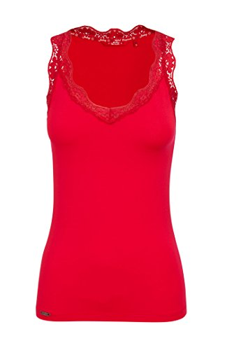 Jockey 850002 Damen Tank Top 2er Pack lipstick red L (40) (Damen Jockey Top Tank)