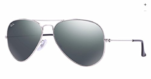 Ray-Ban - Gafas de sol, Hombre, RB3025 AVIATOR LARGE METAL, W3275