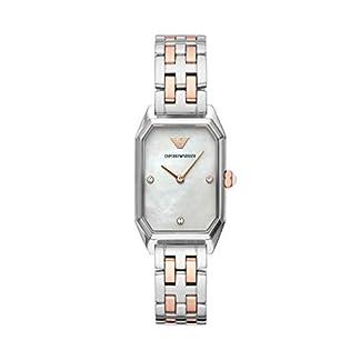 Emporio Armani Reloj Analógico para Mujer de Cuarzo con Correa en Acero Inoxidable AR11146