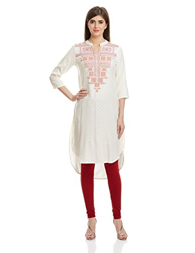 Global Desi Women's A-line Kurta
