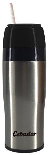 Yerbomos 2.0 Thermoskanne, Mate Becher und Bombilla in einem! | 350 ml | Hochwertiges Produkt | Yerba Mate Kalebasse | Ergonomisches Design | -