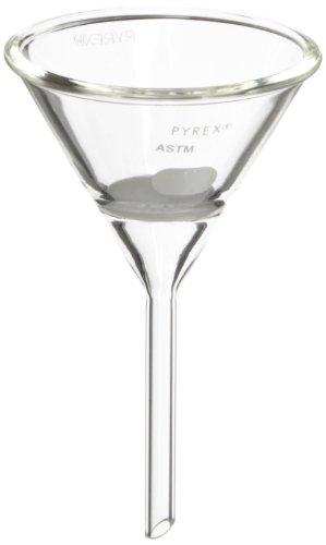 Corning Pyrex Borosilikat Glas Hirsch Trichter mit Medium Porosität Fritted Disc, 30mm Durchmesser - Pyrex Trichter Glas