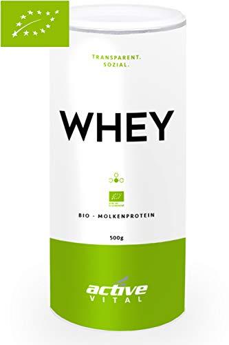 Bio Whey-Protein-Pulver ACTIVEVITAL Neutral 500g (Zertifikat Bildet)