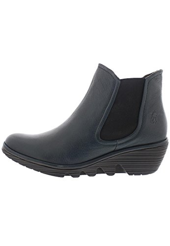 FLY London Damen Phil Chelsea Boots Dunkelblau