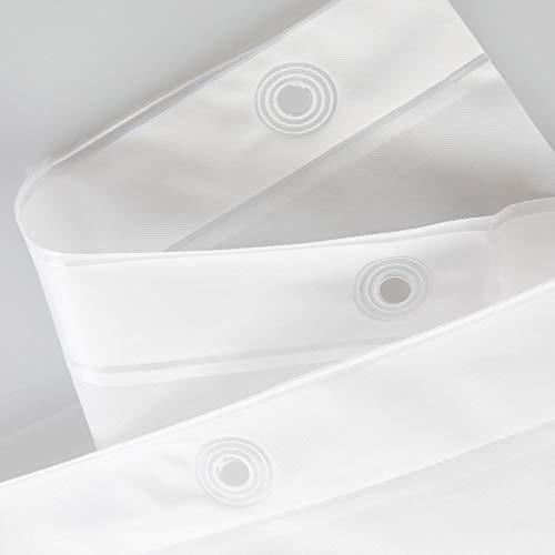Duschvorhang 180x180cm – InterDesign (PVC Frei | PEVA) - 3