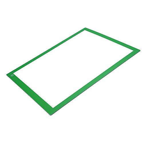 LED Tracing Board Light Box Zeichentafel Digital A3 LED Copy Board Graphic Tablet für Zeichnen Schild Display Panel 470.00 * 350.00 * 5.00 green Stepless Adjust Brightness -