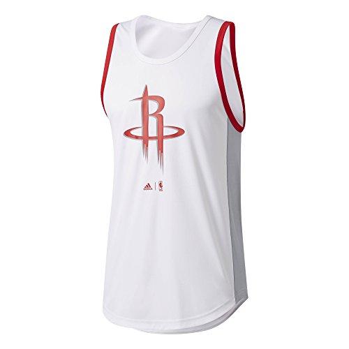 Adidas Smr RN Nr Camiseta sin Mangas Houston Rockets de Baloncesto, Hombre, (Nbahro), M