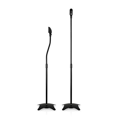 Minify Paire de Supports pour Enceintes Noir 2X 4,5 kg