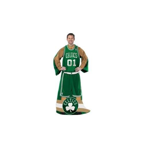 Northwest NBA Full Body Player Erwachsene Comfy Werfen, 121,9x 180,3cm, Herren Unisex Damen, 1NBA024000002RET, grün, 48 x 71