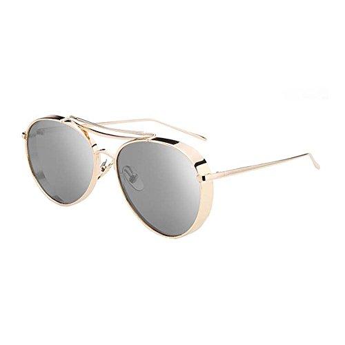 Black Temptation Strassenart und weiseart Anti-UVA Anti-UVB Metallrahmen-Sonnenbrille