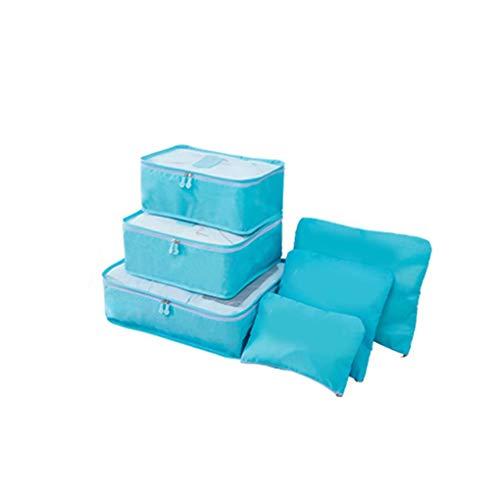Provide The Best 6Pcs / Set Biancheria Intima delle Donne Impermeabile Reggiseni della Ragazza Storage Bag Viaggi cosmetico di Trucco dell'organizzatore del Supporto Cassa dei Bagagli Bag