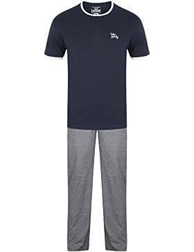 Tokyo Laundry - Pantalón de pijama - Cuadrados - Manga corta - para hombre