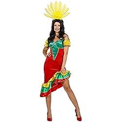 Horror-Shop Costume Brésilien Samba 38