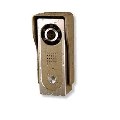 1-Monitor Video Door Entry System with Vela 5 inch Monitor 4-wire series