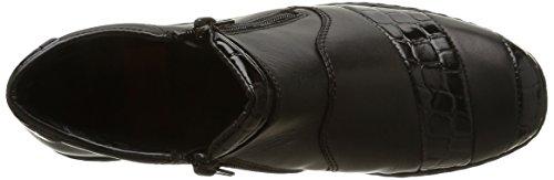 Rieker L6081-00, Damen Hohe Sneakers Schwarz (Noir)
