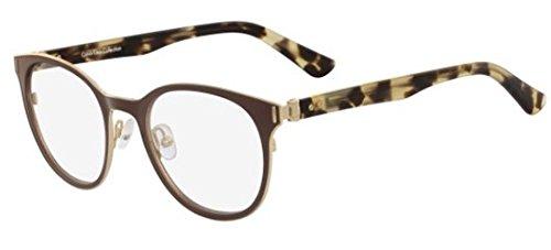 Calvin Klein Brillen CK8023 LIGHT GOLD WHITE Damenbrillen
