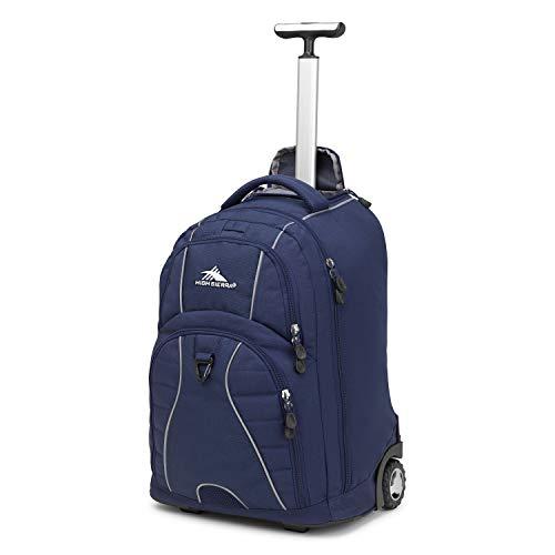 High Sierra Freewheel Rolling Backpack (Black) by...