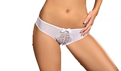 Damen String Tanga Weiss S - XL Livia Corsetti Fashion Weiß