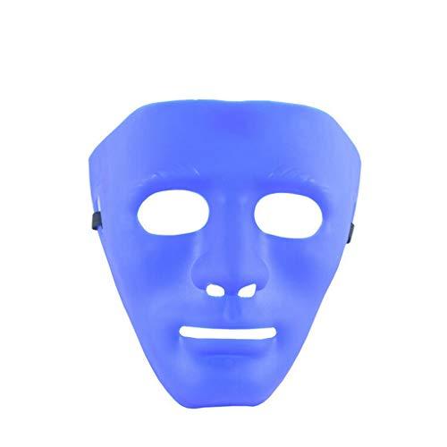 Dramen Besten Kostüm - Balock Schuhe Maske - 2019 Persönlichkeit Maske - Kunststoff Vollgesichts Dekoration Masken - Halloween Karneval Kostüm Maske - für Halloween, Drama, Jede Maskerade (F)