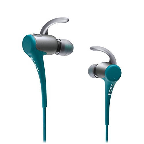 Sony MDR-AS800BT - Auriculares deportivos in-ear Bluetooth (micro USB), azul