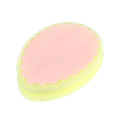 Winice Schmerzlose Haarentfernung Sponge Pad, Doppelseitige Effektive Reiniger Pflege Schwamm für Frauen Arm Bein und Körper Peeling und abgestorbene Haut, Wassertropfen Form (Für Pflege-peelings Frauen)