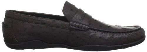 Harrys of London Basel2 Ostrich, Lace Up Derbies homme Marron (dark Brown)