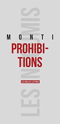 Prohibitions (Les Insoumis t. 3) par François Monti
