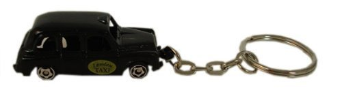 K LONDON TAXI die cast metal KEYRING Collectable Key Ring Charm Key Fob by TLP (Diecast Taxi)