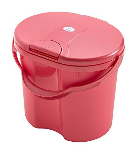 Rotho Babydesign - Cubo para Panal, Rosa Sunset Red Pearl