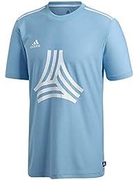 reputable site e026e f635a adidas Tan Logo Camiseta, Hombre, Azul, S