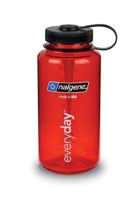 Nalgene, 32oz Tritan Wide Mouth Bottle Red by Nalgene - Oz Nalgene Wide Mouth 32